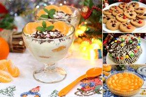 Новогодние десерты рецепты с фото