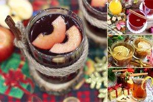 Новогодние напитки рецепты с фото
