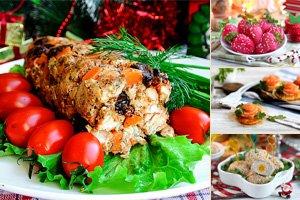 Новогодние закуски рецепты с фото