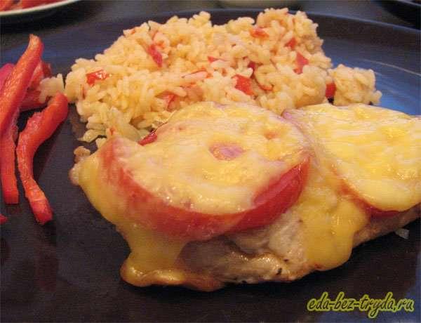 Курица под шубой рецепт с фото