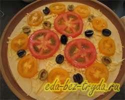 Быстрая пицца 2 слой