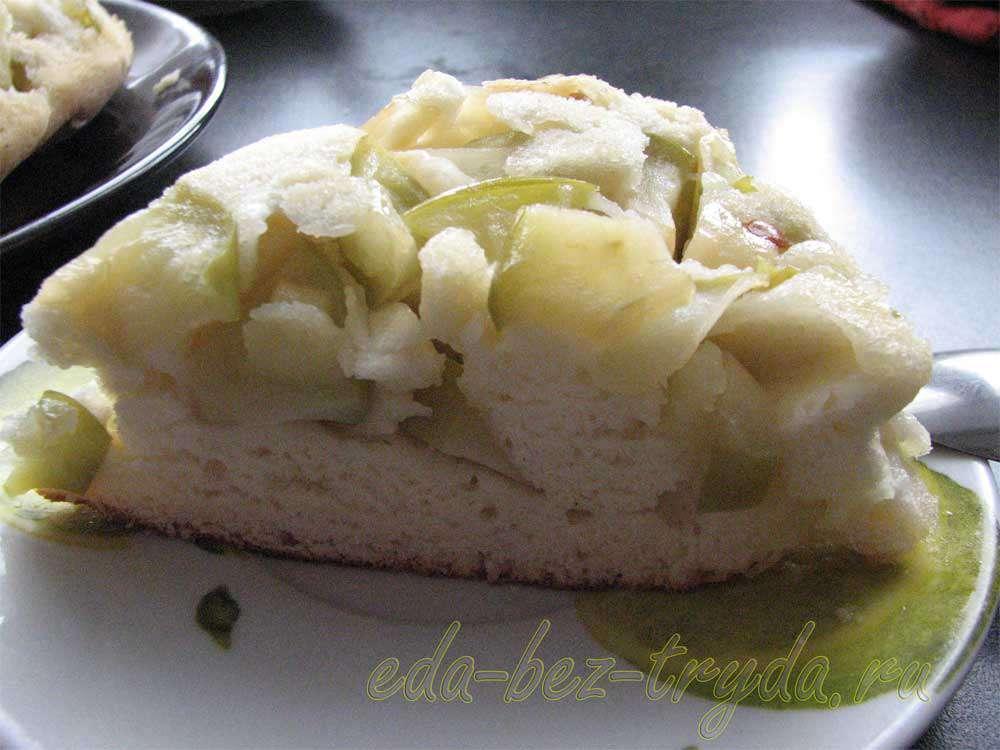 Шарлотка с яблоками рецепт рецепт с фото