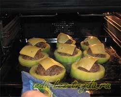 Кабачки фаршированные запеченные в духовке