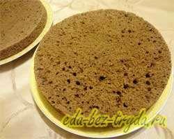 Шоколадно трюфельный торт 13 шаг