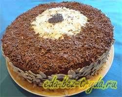 Шоколадно трюфельный торт 16 шаг