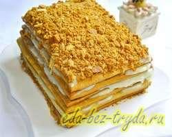 Торт медовый домашний 16 шаг