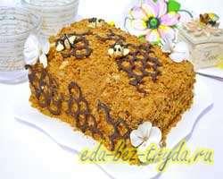 Медовый торт фото 17 шаг