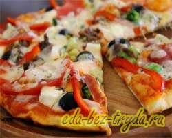 как приготовить Пицца Ранчо