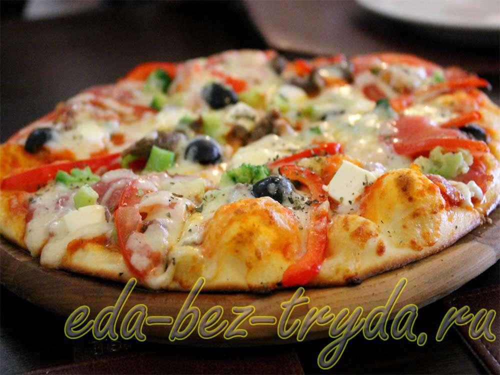 Пицца Ранчо рецепт с фото