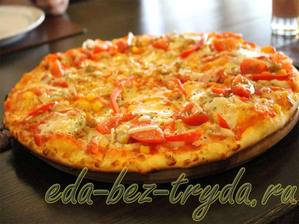 Пицца Монтанара рецепт с фото