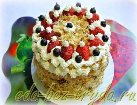Слоеный торт