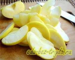 Яблочный пирог рецепт с фото 6