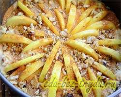Яблочный пирог рецепт с фото 8