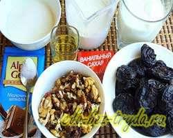 как приготовить Йогуртовые капкейки с черносливом и орехами