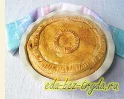 Мясной пирог фото 9
