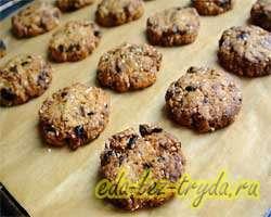 Овсяное печенье рецепт 11 шаг