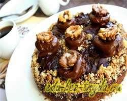 Шоколадный торт 16 шаг