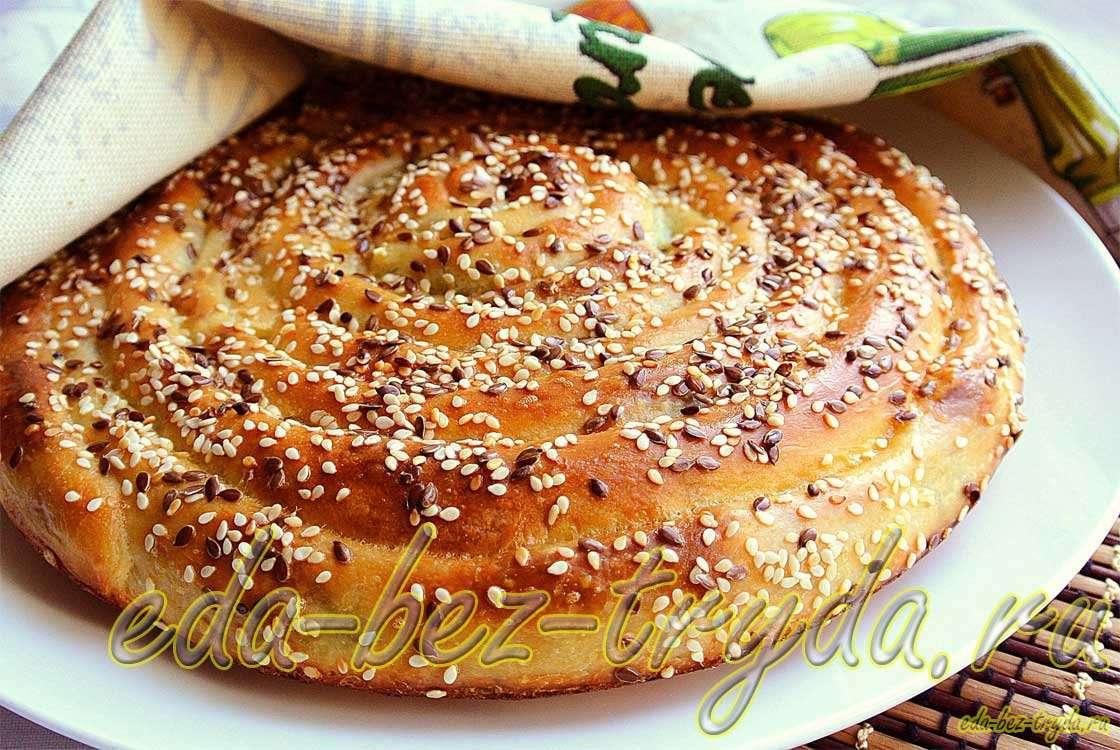 Пирог улитка рецепт с фото