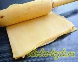 Рецепт домашней лапши 8 шаг