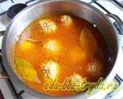 Тефтели в томатном соусе 7 шаг
