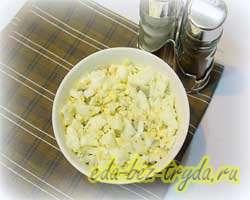 Коктейльный салат 6 шаг