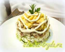 Коктейльный салат 9 шаг