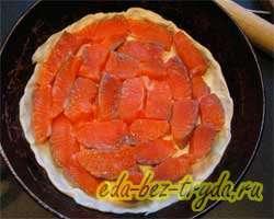 Пирог с семгой 7 шаг