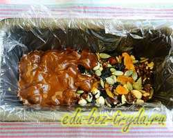Домашние шоколадные плитки 5 шаг