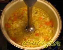 Суп пюре из сельдерея 9 шаг