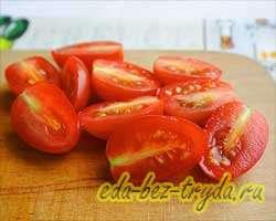 Греческий салат 5 шаг