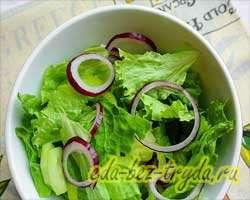 Греческий салат 4 шаг