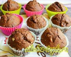 Творожно-шоколадные маффины 12 шаг