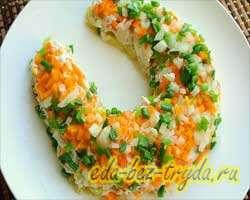 Салат подкова 7 шаг