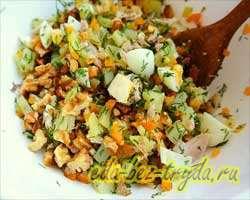 Салат с курицей 7 шаг