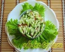 Салат с семгой 12 шаг