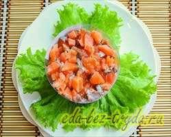 Салат с семгой 11 шаг