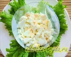 Салат с семгой 6 шаг