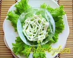 Салат с семгой 4 шаг
