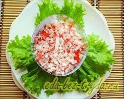 Салат с семгой 9 шаг