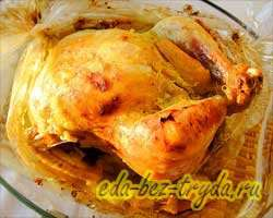 Фаршированная курица 10 шаг