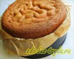Бисквитный торт 23 шаг