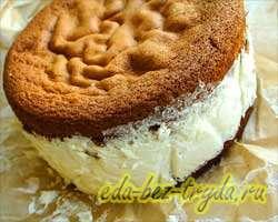 Бисквитный торт 25 шаг