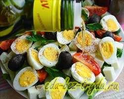 Салат на завтрак 10 шаг
