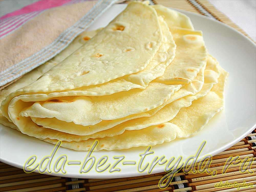Тортилья рецепт с фото