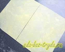 Листы для лазаньи 7 шаг