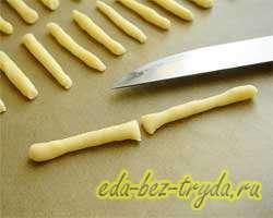 Печенье спички 11 шаг