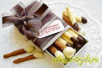 Печенье спички
