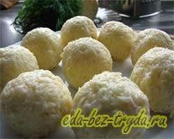 Сырные шарики 6 шаг