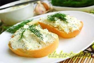 Салат из плавленных сырков