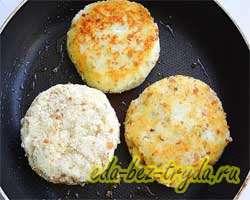Картофельные зразы с мясом 9 шаг